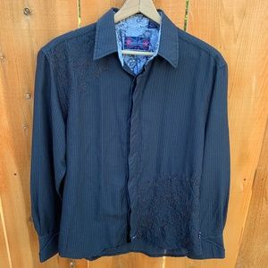 English Laundry Christopher Wicks Black Shirt L